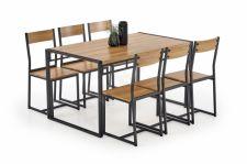 Valgomojo stalas BOLIVAR + 6 kėdės