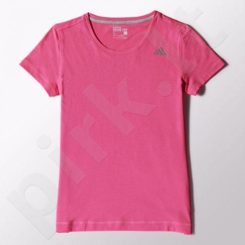 Marškinėliai treniruotėms Adidas Infinite Serier Prime Tee W S16383