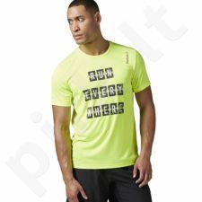 Marškinėliai bėgimui  Reebok Running Essentials M BK7280