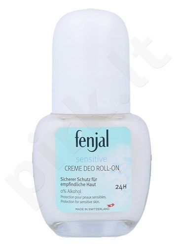 Fenjal Sensitive Deo Roll-on 24H, kosmetika moterims, 50ml