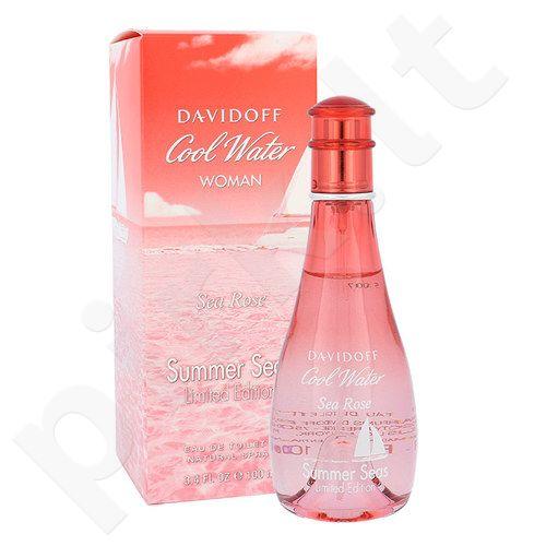 Davidoff Cool Water Sea Rose Summer Seas, EDT moterims, 100ml