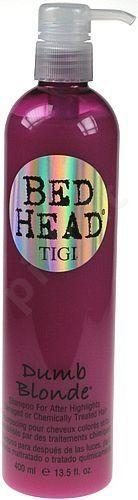 Tigi Bed Head Dumb Blonde, šampūnas moterims, 400ml