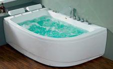 Masažinė vonia B1913-1 kairinė su hidromasažu