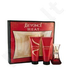 Beyonce Heat, rinkinys kvapusis vanduo moterims, (EDP 30ml + 75ml dušo želė + 75ml kūno losjonas)