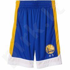 Šortai krepšiniui Adidas Youth Winter Hoops Golden State Warriors Junior AX7826