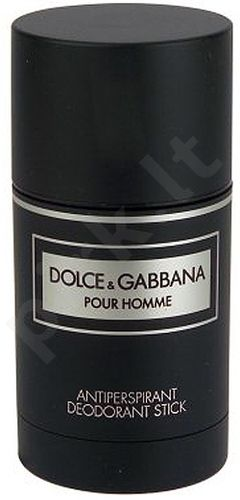 Dolce&Gabbana Pour Homme, dezodorantas vyrams, 75ml