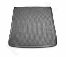 Guminis bagažinės kilimėlis NISSAN Patrol 2010->  (folded 3th row) black /N28015