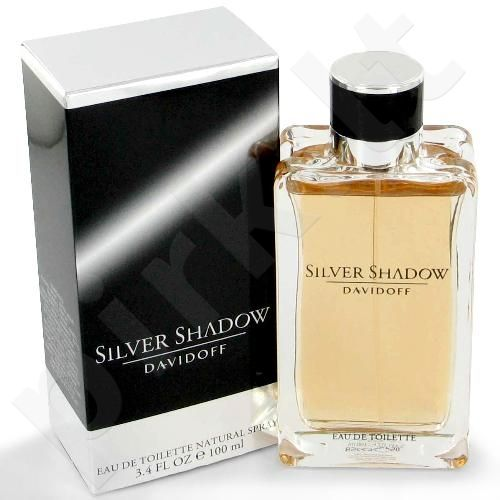Davidoff Silver Shadow, tualetinis vanduo (EDT) vyrams, 100 ml