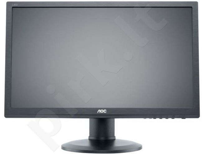 Monitorius AOC e2460Pxda 24'', LED, DVI, Energy Star 6.0, Garsiakl.