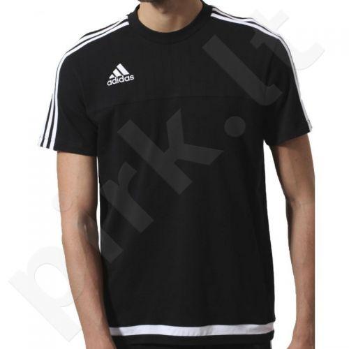 Marškinėliai futbolui Adidas Tiro 15 Tee M S22432