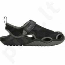 Sportiniai bateliai  Crocs Swiftwater Mesh Deck Sandal M 205289 001
