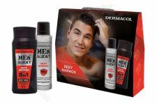 Dermacol Sexy Sixpack, Men Agent, rinkinys dušo želė vyrams, (dušo želė 5 in 1 250 ml + Antiperspirant 150 ml)