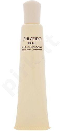 Shiseido Ibuki Eye Correcting kremas, kosmetika moterims, 15ml