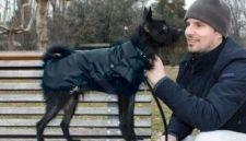 Paltukas nuo lietaus MONREAL  juodas 70 cm