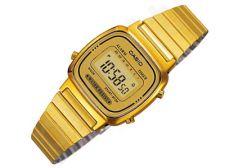 Casio Retro Collection LA670WGA-9DF moteriškas laikrodis Chronograph