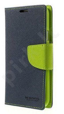 Samsung Galaxy A7 dėklas FANCY Mercury mėlynas/žalias