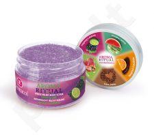 Dermacol Aroma Ritual kūno pilingas Grape&Lime, kosmetika moterims, 200g