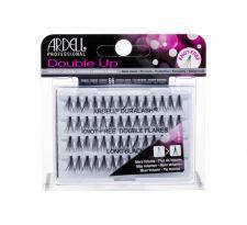 Ardell Double Up, Duralash Knot-Free Double Flares, dirbtinės blakstienos moterims, 56pc, (Long Black)