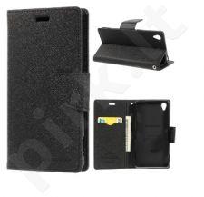 Sony Xperia Z3 dėklas FANCY Mercury juodas