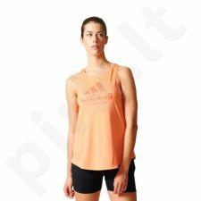 Marškinėliai bėgimui  adidas Category Tank W BP8522