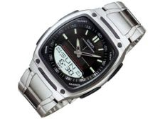 Casio Collection AW-81D-1AVES vyriškas laikrodis-chronometras