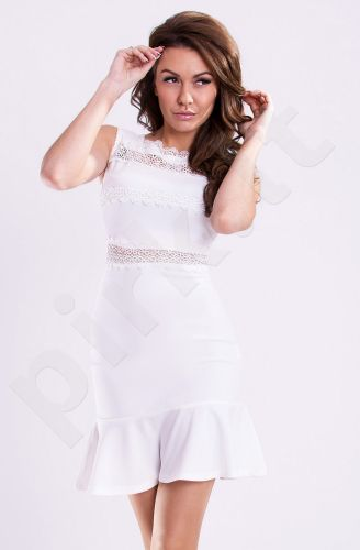 Emamoda suknelė - balta 12013-4