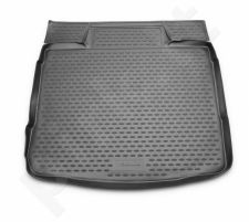 Guminis bagažinės kilimėlis OPEL Insignia sedan 2008-> black /N29011