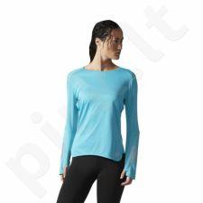 Marškinėliai bėgimui  adidas Response Long Sleeve Tee W BP7435