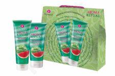 Dermacol Fresh Watermelon, Aroma Ritual, rinkinys dušo želė moterims, (dušo želė 250 ml + kūno losjonas 200 ml)