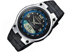 Casio Collection AW-82-1AVES vyriškas laikrodis-chronometras