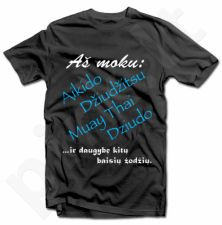 """Marškinėliai """"Moku daug baisių žodžių"""""""