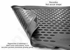 Guminis bagažinės kilimėlis OPEL Meriva 2002-2010 black /N29015