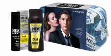 Dermacol Total Freedom, Men Agent, rinkinys dušo želė vyrams, (dušo želė 5in1 250 ml + barzdos aliejus Treatment 4in1 50 ml + kosmetika krepšys)