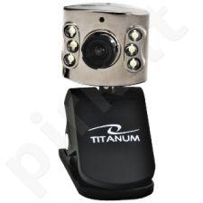 Web kamera Titanum TC102 Amber Su mikrofonu USB 6 Led