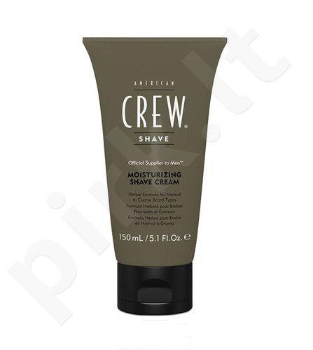 American Crew Shave Moisturizing skutimosi kremas, kosmetika vyrams, 150ml