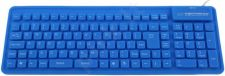 Silikoninė klaviatūra Esperanza EK126B USB/OTG Lanksti Atspari vandeniui / mėlyn