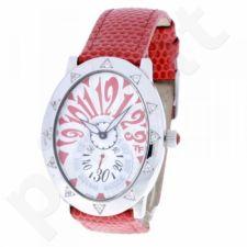 Moteriškas laikrodis Romanson HL6123Q MW WH RED