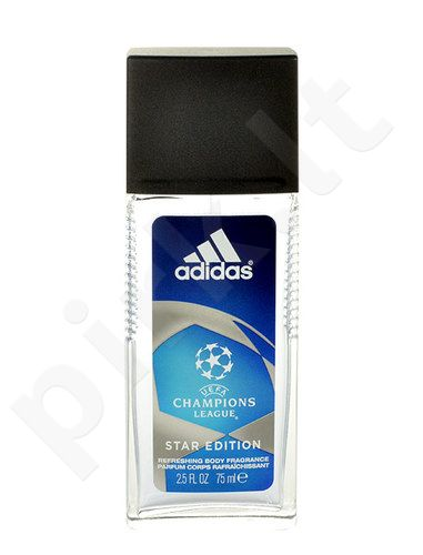 Adidas UEFA Champions League Star Edition, dezodorantas vyrams, 75ml