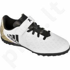 Futbolo bateliai Adidas  X16.4 TF H&L Jr BB4022