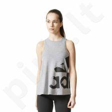 Marškinėliai bėgimui  adidas ADI AOP W CD8457