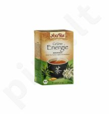 Energijos suteikianti žalia arbata YOGI TEA, 17 vnt