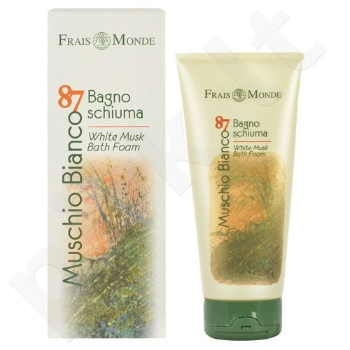Frais Monde Muschio Bianco 87 White Musk vonios putos, kosmetika moterims, 200ml