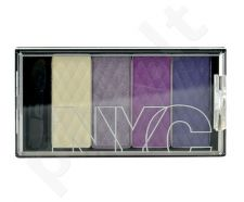 NYC New York Color HD Color Quattro akių šešėliai, kosmetika moterims, 6g, (824 Central Park Lavender)
