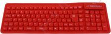 Silikoninė klaviatūra Esperanza EK126R USB/OTG Lanksti Atspari vandeniui / raudo