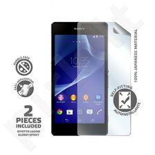 Sony Xperia M2 ekrano plėvelė Celly permatoma