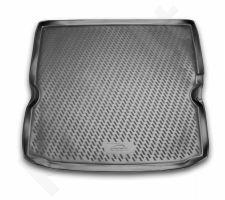Guminis bagažinės kilimėlis OPEL Zafira B 2005-2011 black /N29023