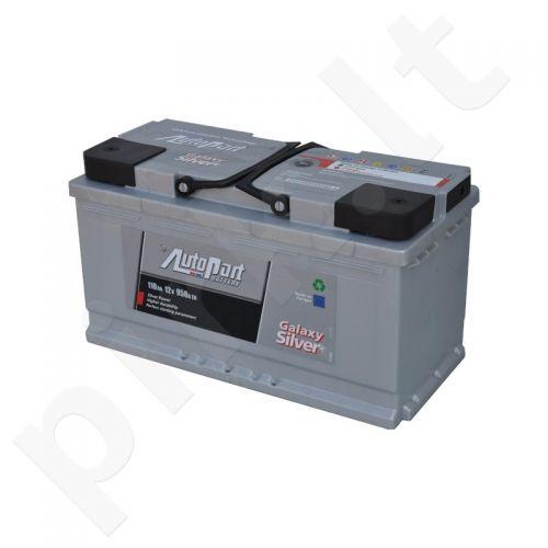 Akumuliatorius AUTOPART 110AH 950A GALAXY SILVER