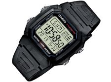 Casio Collection W-800H-1AVES vyriškas laikrodis-chronometras