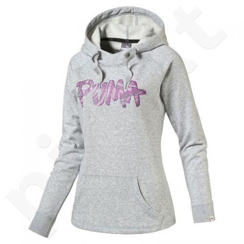 Bliuzonas  Puma FUN FONT Hooded Sweat TR W 83635804