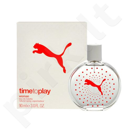 Puma Time to Play Woman, EDT moterims, 20ml